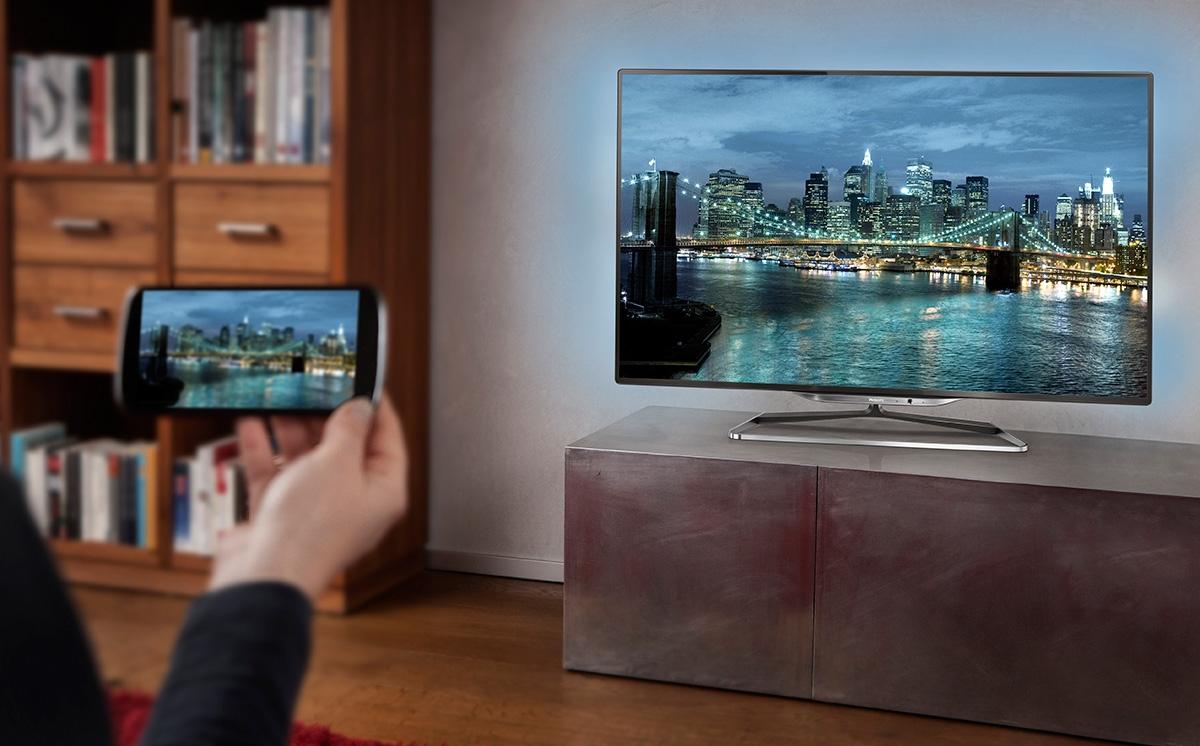 Как сделать телевизор через телефон 182