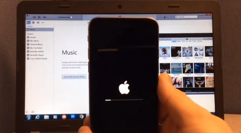 Как сделать чтобы на iphone была одна папка
