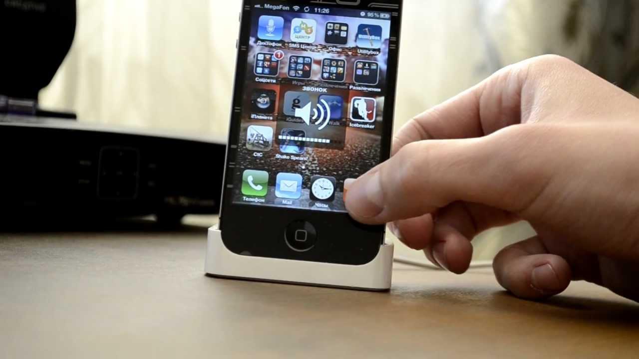 Что делать если на айфоне звук только через наушники