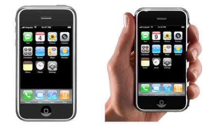 Как выглядит айфон 1