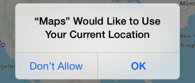 Как включить геопозицию на айфоне