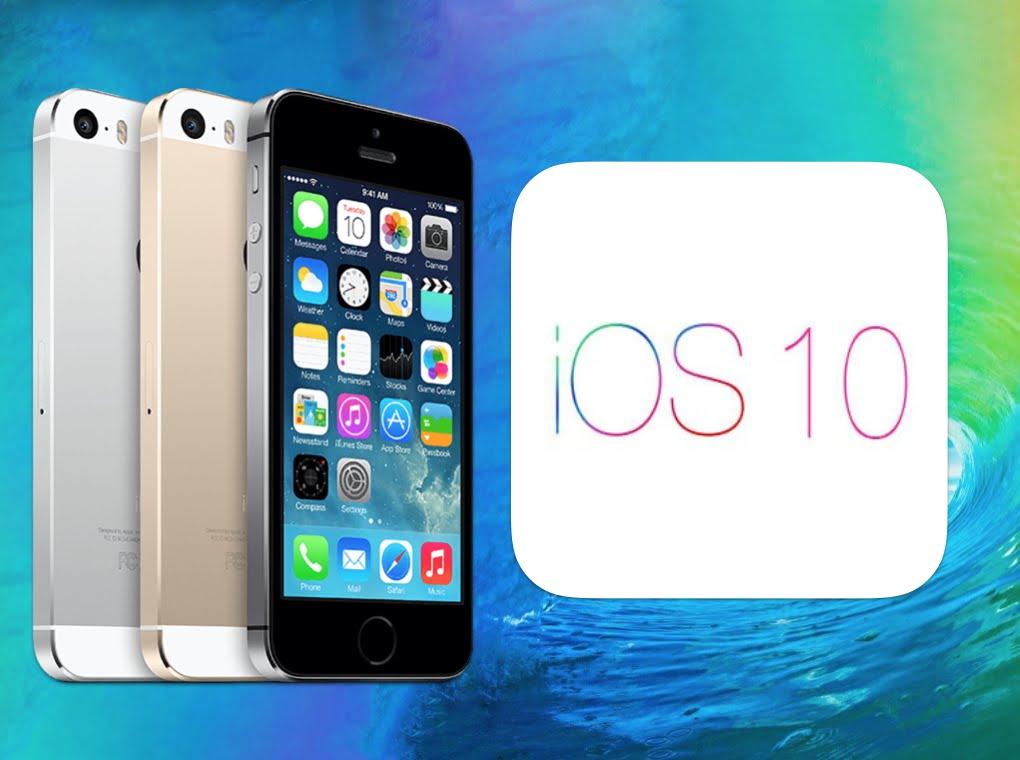 iphone 5c ios 10