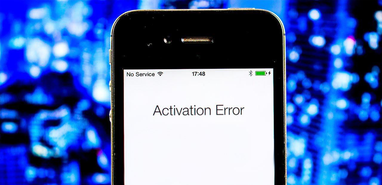Не могу активировать айфон