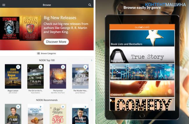 Как слушать аудиокниги на iPad и где их скачать