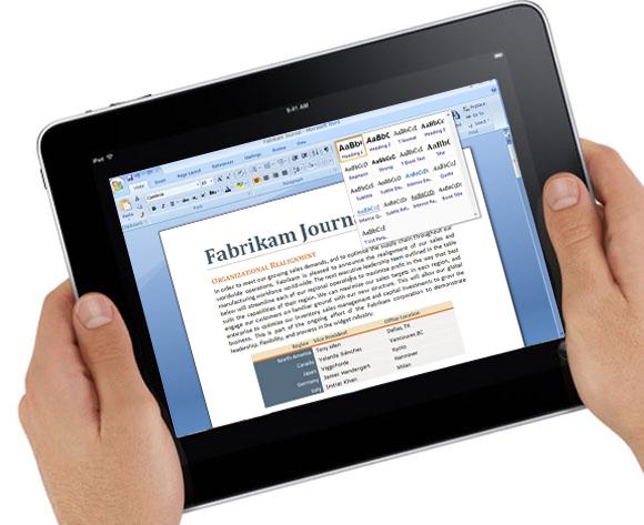 Как на Айпаде создать документ Word или Excel?