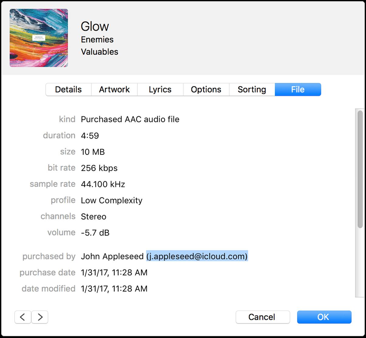 Где взять apple id и пароль