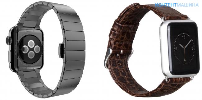 Самые лучшие и  необычные ремешки для Apple Watch