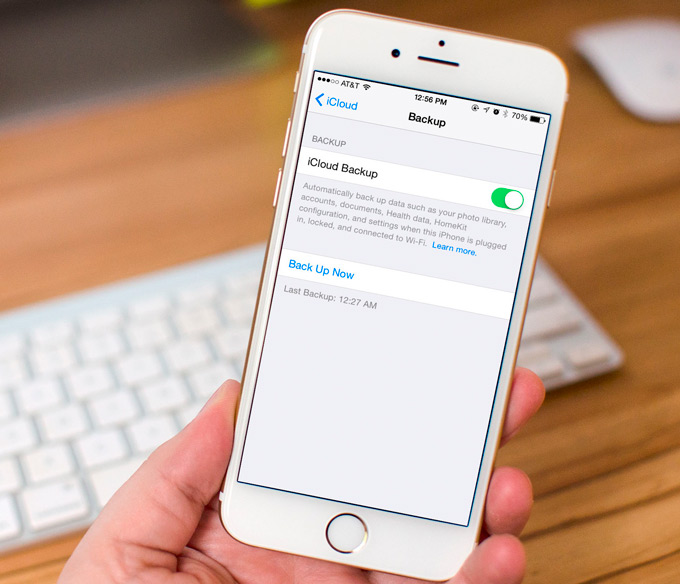 Как сделать резервную копию iphone в icloud фото 51