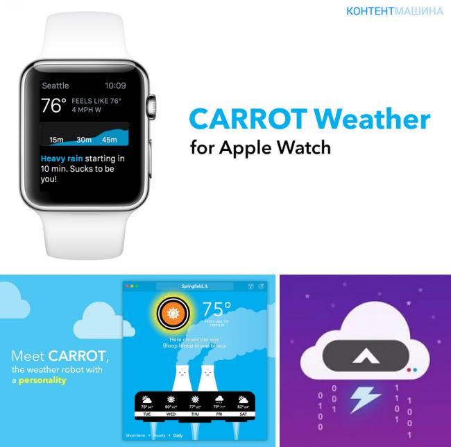 Программы для Apple Watch Series 2, которые обязательно нужно установить